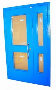 стальные двери для строительных
